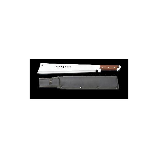 machete Albainox. Puño madera. hoja: 36