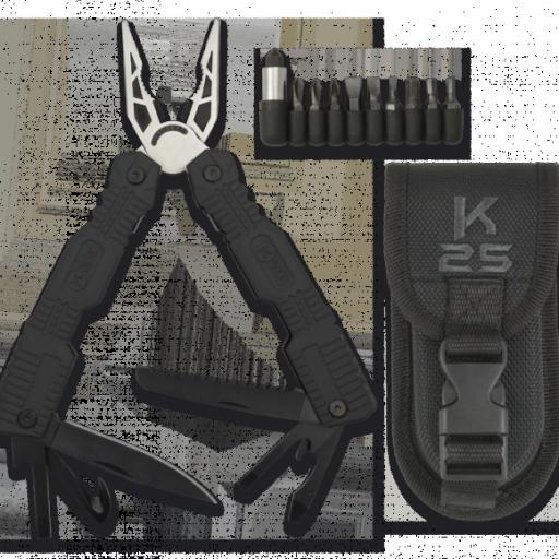 alicate engomado K25. 19 usos. 17cm