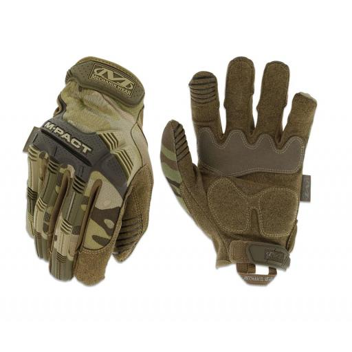 GUANTES MECHANIX MOD. MPACT MULTICAM