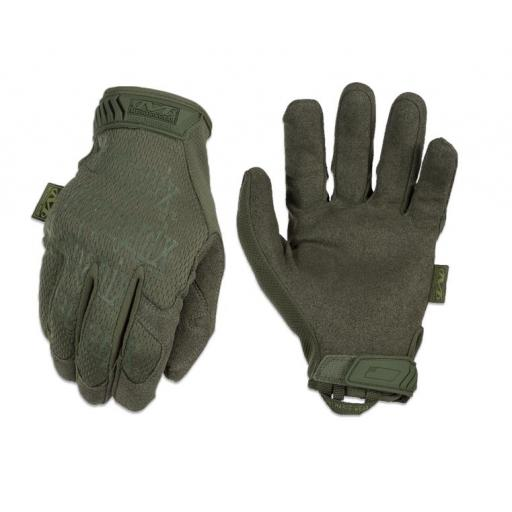 "Guantes Mechanix "" The Original"" Verde"