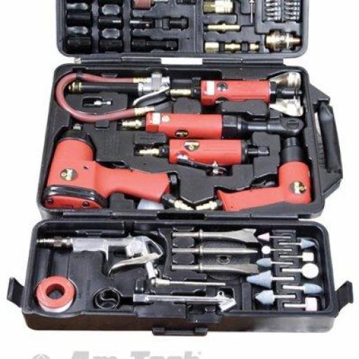 Digitech R9L  Juego de herramientas neumáticas (77 piezas,