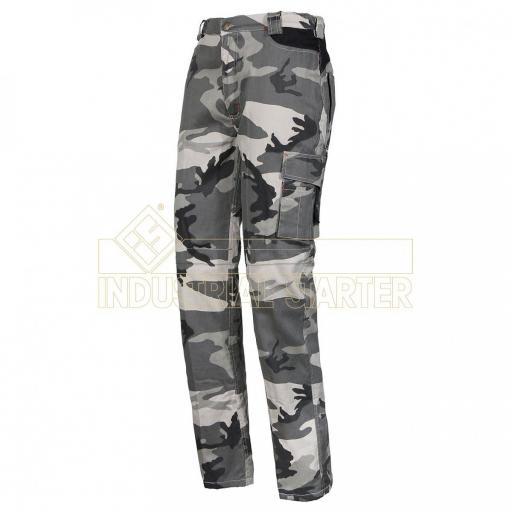 Pantalon ZIP CAMO GRISES