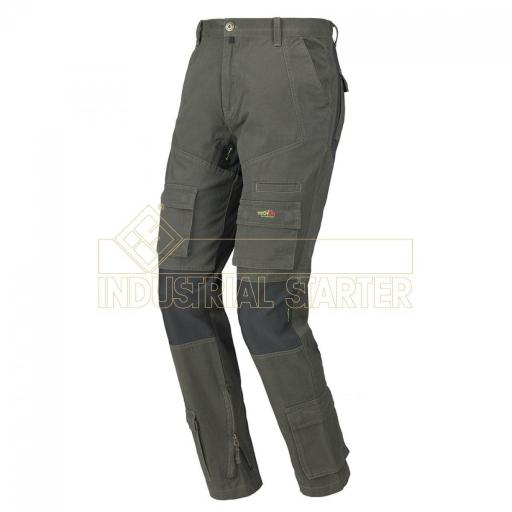 PANTALON STRETCH ON ANTRACITA