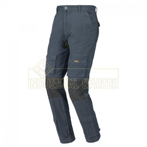 PANTALON STRETCH ON AZUL