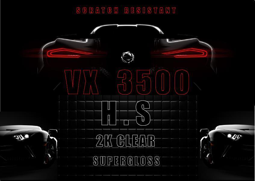 BARNIZ  VX 3500 H.S 1 LITRO MAS 333ML ACTIVADOR