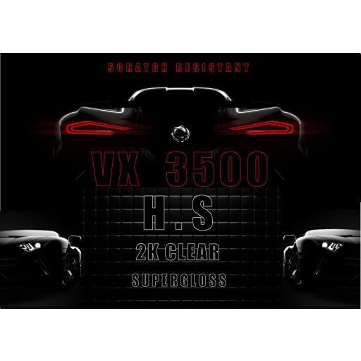BARNIZ   VX 3500   H.S  5 LITROS + 2 LITROS CATALIZADOR