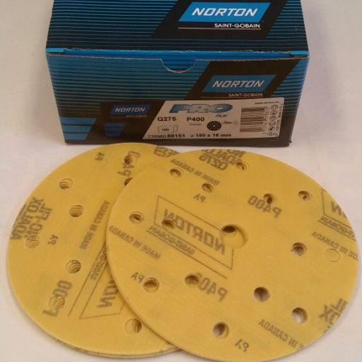 Discos  P 80 Norton film