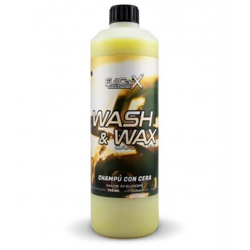 CHAMPÚ CON CERA (WASH&WAX)