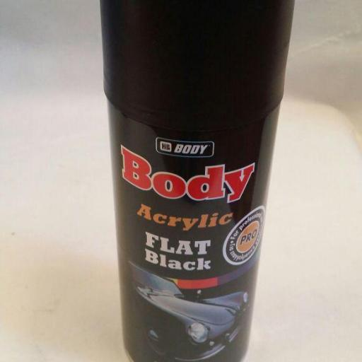 Spray HB Body Flat Black