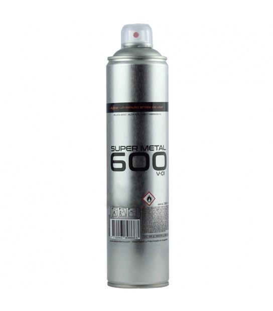 SPRAY SUPER METAL ALUMINIO 600 ML