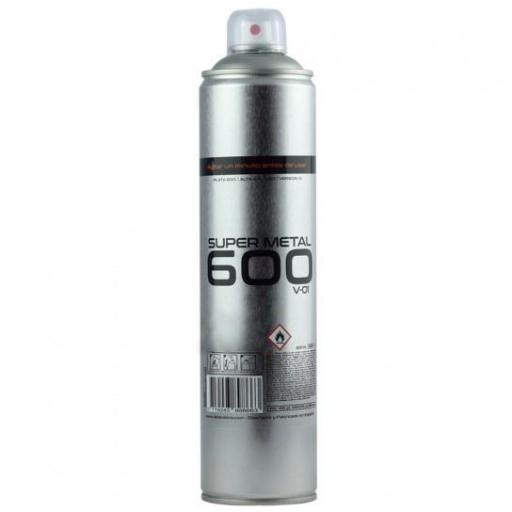 SPRAY SUPER METAL ALUMINIO 600 ML