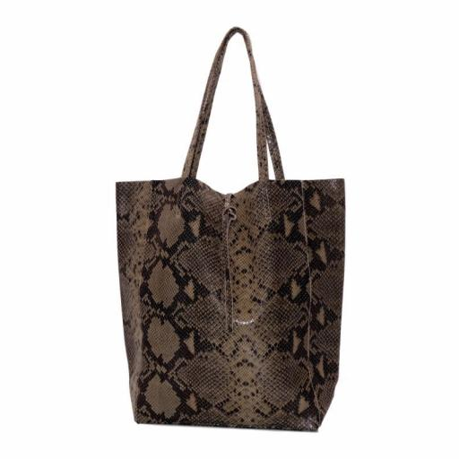 bolso shopper piel snake marron (1).jpeg