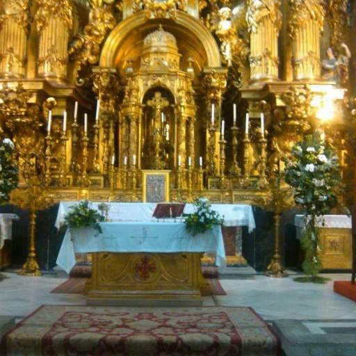 DECORACIÓN IGLESIA  DE LAS CALATRAVAS , MADRID