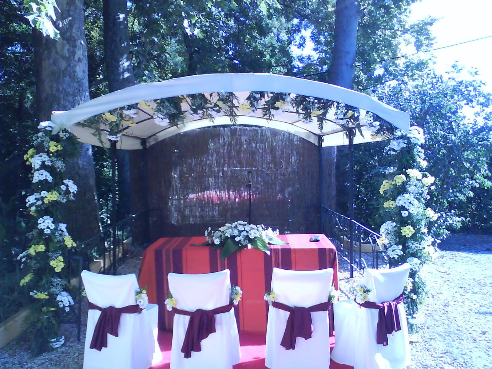 Decoración de ceremonia (Consultar precio)