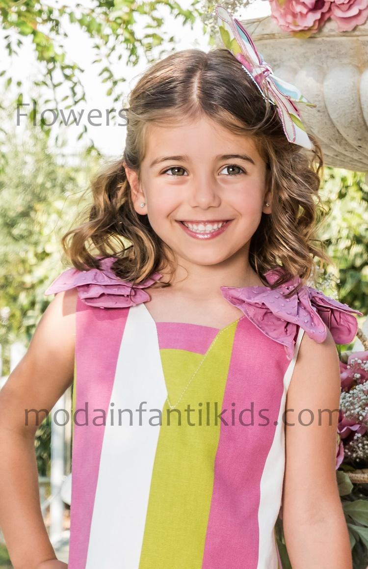 Pinza niña Babiné 2022933 Flowers