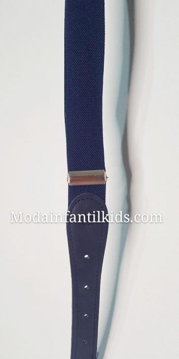 Cinturón niño Dolce Petit azul marino 2200-C