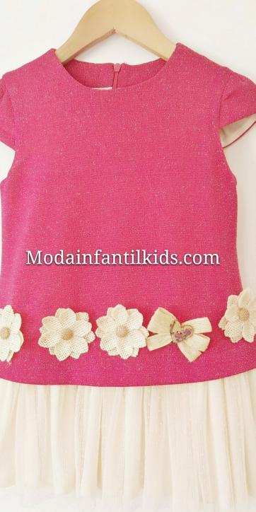 vestido-niña-rosa-fucsia [2]