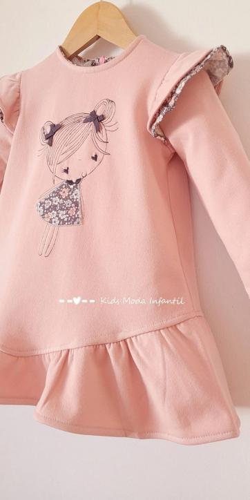 vestido-niña-invierno-rosa