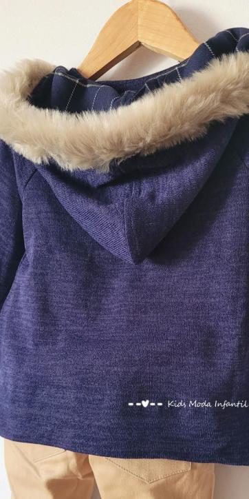 Conjunto bebe vestir jersey vespa y pantalón camel Basmarti [1]