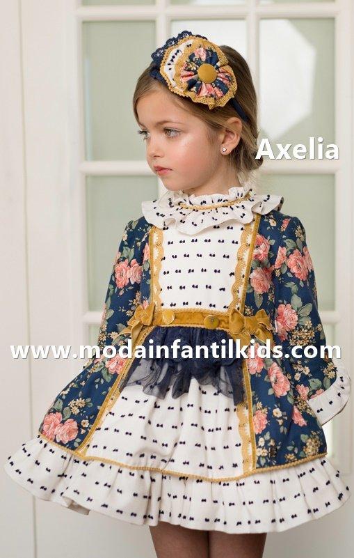 Vestido infantil Dolce Petit de gran vuelo