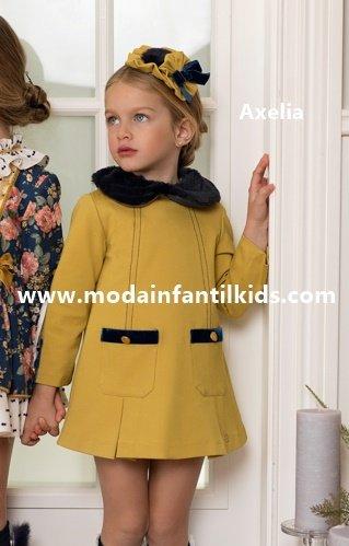 Vestido niña Dolce Petit Mostaza