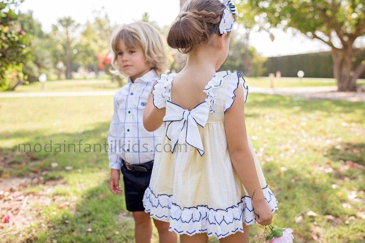 conjunto niño vestir dolce petit