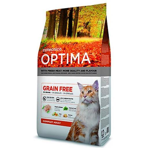 COTECAT OPTIMA GRAIN FREE ADULT 1kg