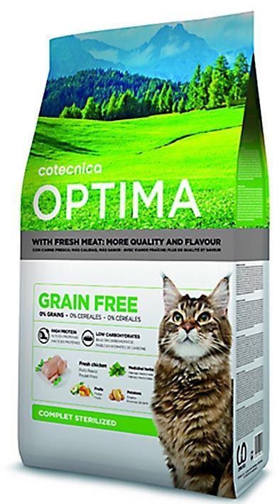 COTECAT OPTIMA GRAIN FREE STERILIZED 1kg