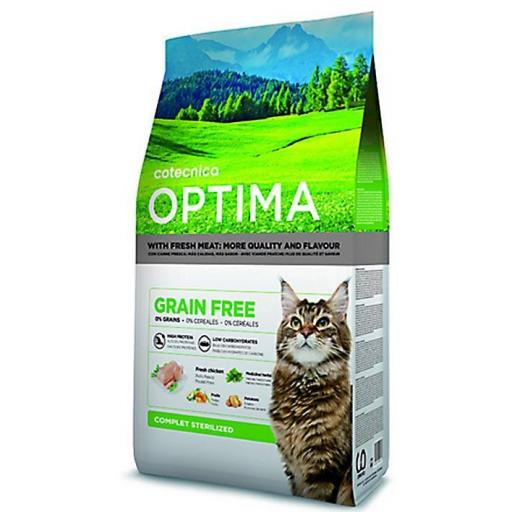 COTECAT OPTIMA GRAIN FREE STERILIZED 3kg