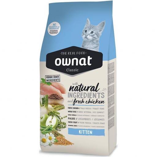 .40OWNAT CLASSIC KITTEN CAT 1.5KG [0]