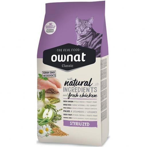 OWNAT CLASSIC STERILIZED CAT 4KG