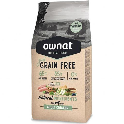 OWNAT GF JUST ADULT CHICKEN DOG 14kg