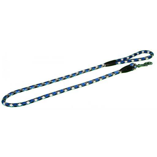 Tirador cuerda azul y blanco