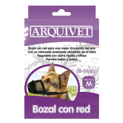 Bozal de nylon con red talla 3