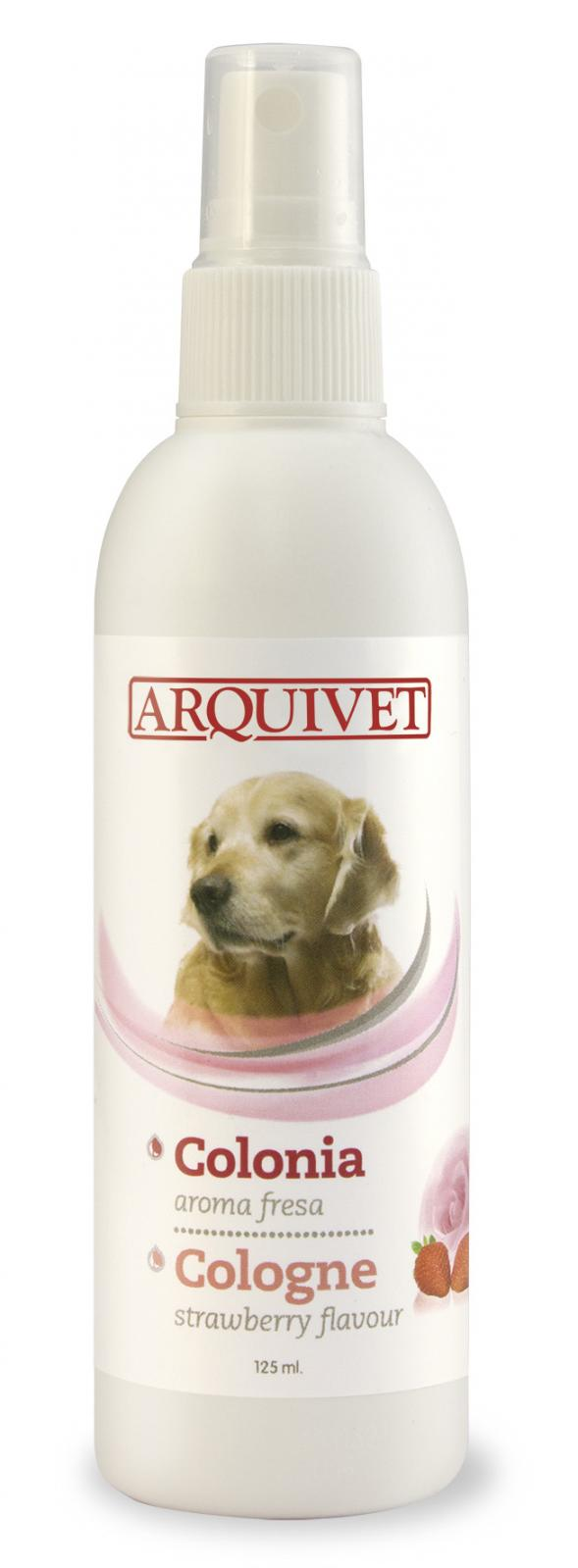 Colonia para perros aroma fresa-125ml