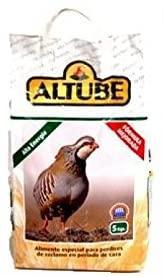 Alimento perdiz reclamo - Altube Alta Energía - 5 kg