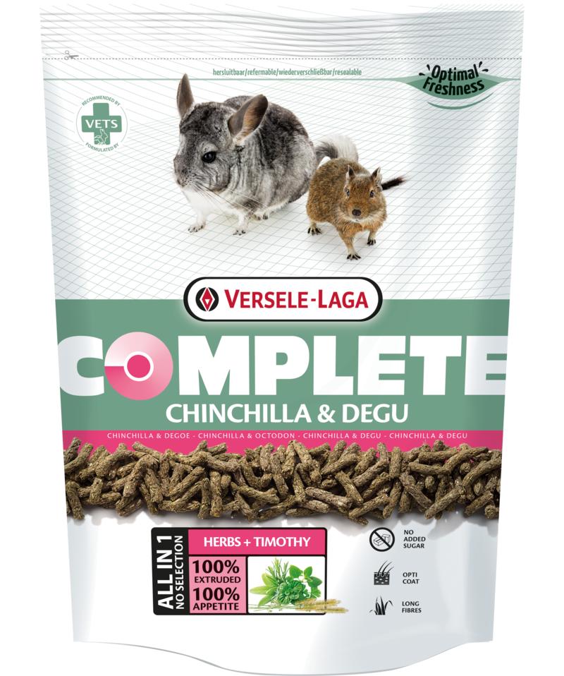 Complete chinchillas y degu, Versele Laga 500gr