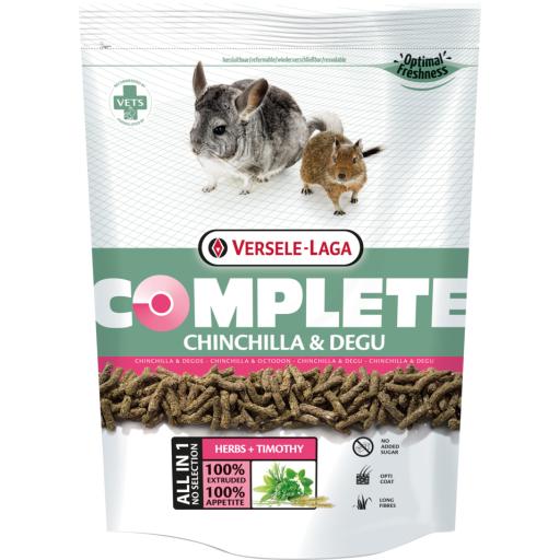 Complete chinchillas y degu, Versele Laga 1.75kg