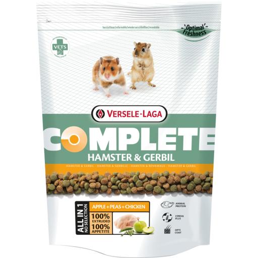 Hamster & gerbil complete 500gr