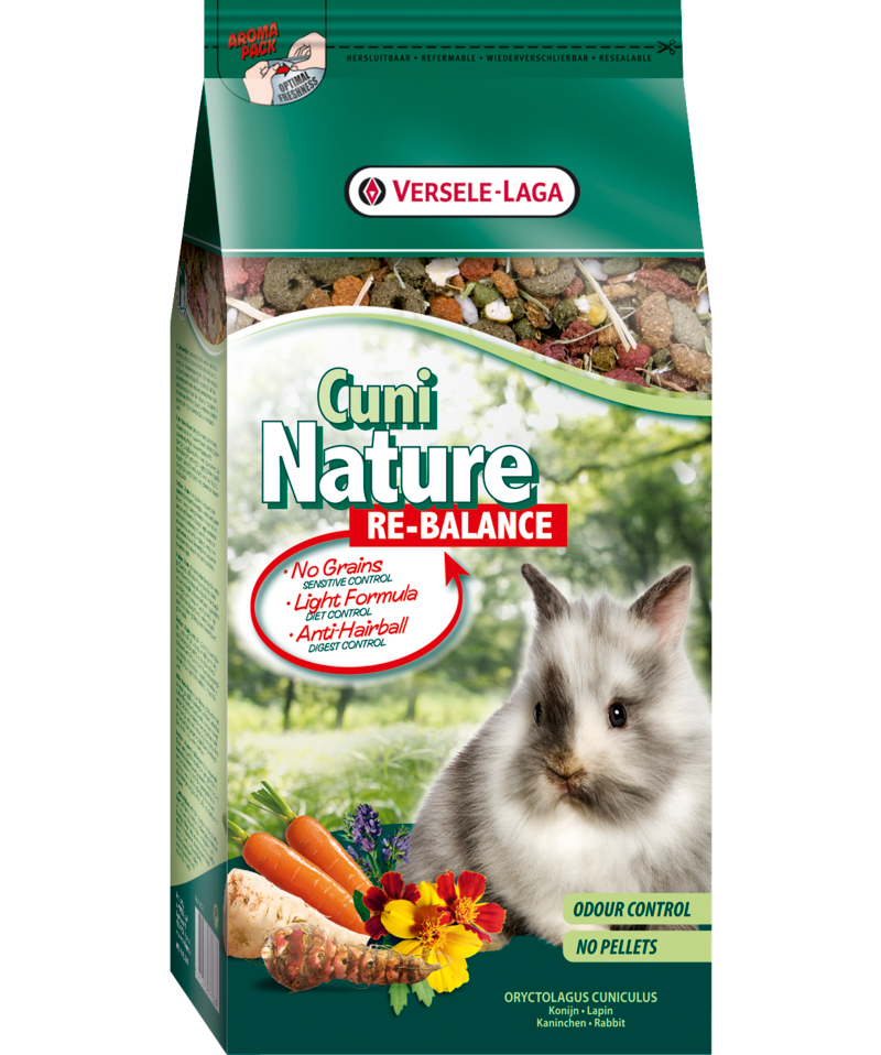 Versele-Laga Cuni Nature Re-Balance para conejos 700gr