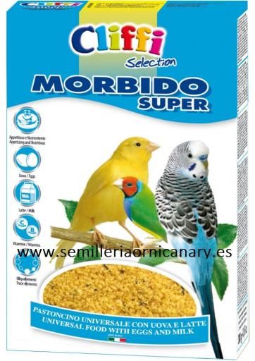 Pasta Morbido Super cliffi