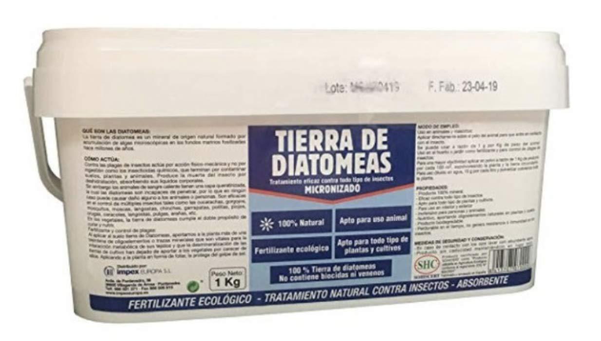 Tierra Diatomedas micronizada 1 kg