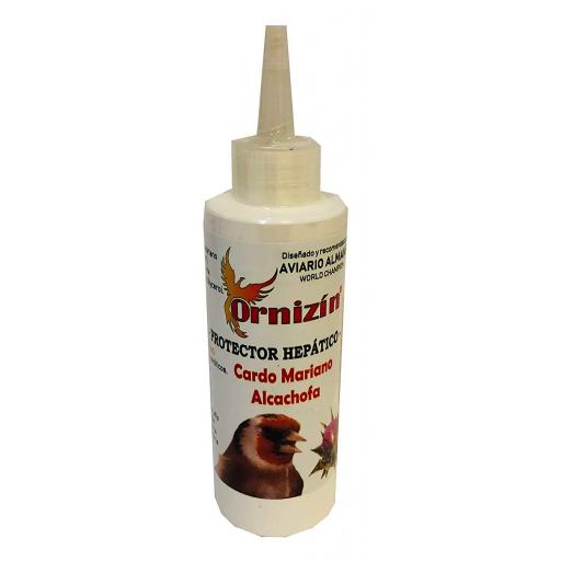 Protector Hepatico Liquido Ornizin.