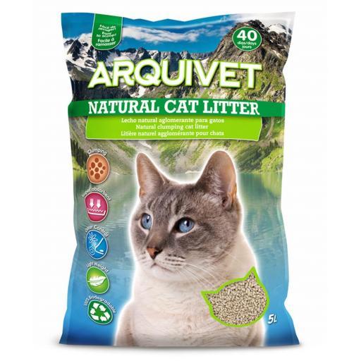 Arquivet Natural Cat Litter 5L