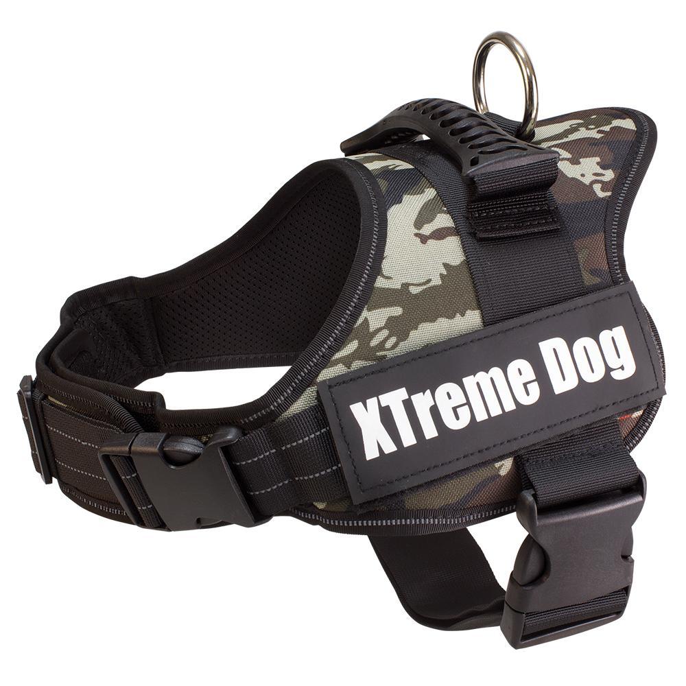 Arnes XTreme Dog  camuflaje para perros talla M