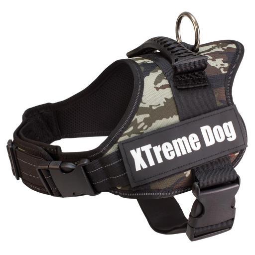 Arnes XTreme Dog  camuflaje para perros talla M [0]