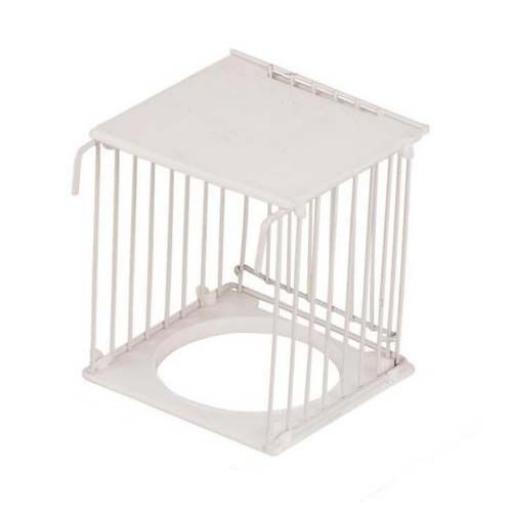 Caseta nido exterior economica con puerta [0]