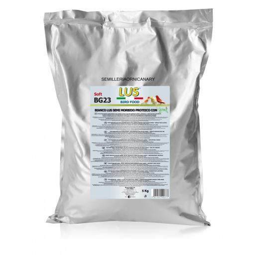 Pasta de cria blanca morbida sin dore con germix semilla germinada desidratada
