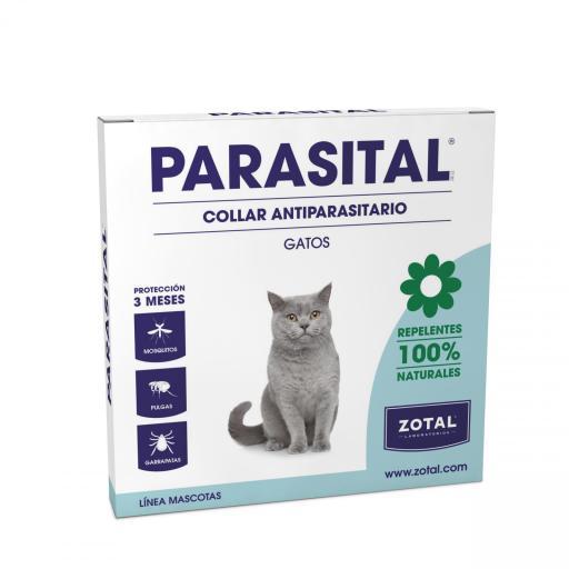 Parasital Collar Gatos