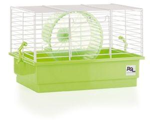 RSL jaula hamster blanca pequeña